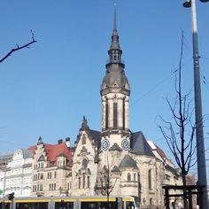 #Evangelisch #Reformierte #Kirche in #Leipzig. #Sunny day today.