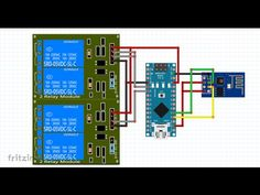 WIFI controlled Electric door and a Water heater from anywhere in the world - YouTube