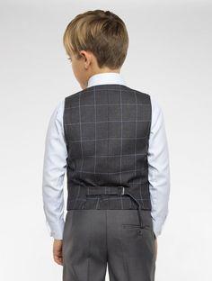 Boys grey page boy suit | Boys grey suits | Sampson | Roco