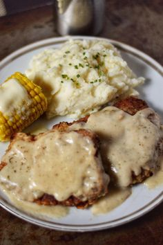 Country Fried Steak Recipe - Coop Can Cook Southern comfort are it's finest! Tender steaks fried golden brown covered in a savory, white gravy made from scratch! Bring on the biscuits! Seared Salmon Recipes, Pan Seared Salmon, Skirt Steak Recipes, Beef Recipes, Recipes With Cube Steak, Minute Steak Recipes, Chicken Recipes, Country Fried Steak Recipe, Meat Recipes