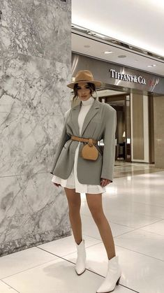 Winter Fashion Outfits, Look Fashion, Spring Outfits, Autumn Fashion, Womens Fashion, 50 Fashion, Fashion Spring, Modern Fashion Outfits, Spring Ootd