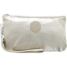 Kipling CREATIVITY  Kopertówka silver beige