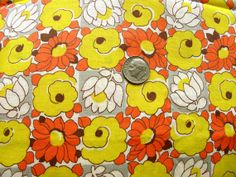 Vintage NOVELTY Fabric