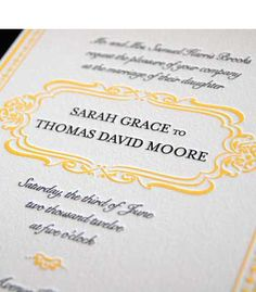 invite in grey and yellow, @Tori Swenson