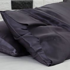 Ultimate Luxury Charcoal Silk Pillowcase Pillowcases, Baby Car Seats, Charcoal, Silk, Luxury, Children, Shopping, Young Children, Pillow Case Dresses