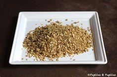 Dukkah, un mélange de graines et noix moyen oriental »