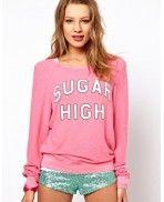 Wildfox sweater sugar high