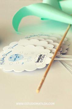 #babyshower #globo #nubes #bautismo #cartel Baby Shower, Matilda, Bobby Pins, Hair Accessories, Speech Balloon, Clouds, Poster, Babyshower, Hairpin