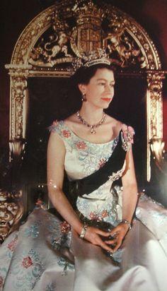Queen Elizabeth II (Elizabeth Alexandra Mary) (1926-living2013) UK.