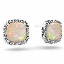opal earrings - lovely | ACCESSORIES | Pinterest