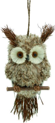 Natural Grasses Hanging Owl On Perch Tree Decoration #ukchristmasworld #barnsley #christmas #decoration #festive #hanging #christmastree #display http://www.ukchristmasworld.com/Shop/Christmas-Tree-Decorations/Christmas-Tree-Decorations/5098-Natural-Grasses-Hanging-Owl-On-Perch-Tree-Decoration.html
