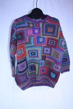 Vintage Rowan Knit Sweater Unisex No Size Marked See Measurements Kaffe Fassett #Rowan