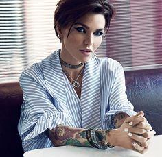 Ruby Rose shes honestly the most gorgeous woman ive ever seen