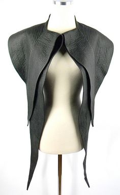 Haider Ackermann Leather Vest