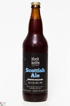 Black Kettle Brewing Co. Scottish Ale Review Bottle