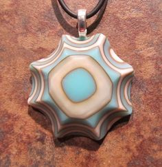 layers of french vanilla and turquoise glass