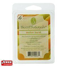 3-Pack ScentSationals Melon Burst Fragrance Highly Scented Wax Cubes Melts Tarts | Home & Garden, Home Décor, Home Fragrances | eBay!