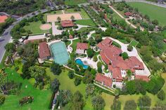 This amazing estate in Rancho Santa Fe comes complete with a world class equestrian facility.
