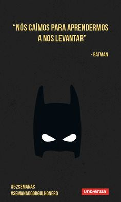 Frases do Batman Book Quotes, Words Quotes, Sayings, Cogito Ergo Sum, Nerd Geek, Beauty Quotes, Some Words, Dc Comics, Texts