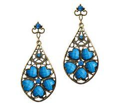 Blue-Heart-Earrings
