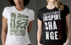 A portion of the money for these cool eco-friendly tees goes to great charities! http://www.treehugger.com/style/donna-karan-toniccom-design-eco-friendly-t-shirts-for-charity.html