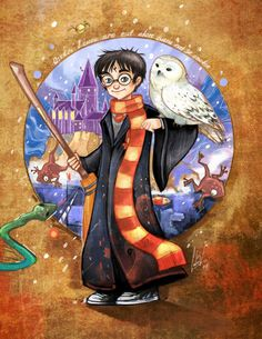 "tallulahlucy: "" Amazing Harry Potter Art by DeviantArt user Ciclomono Source "" Fanart Harry Potter, Harry Potter Poster, Carte Harry Potter, Harry Potter Bricolage, Arte Do Harry Potter, Harry Potter Painting, Harry Potter Artwork, Theme Harry Potter, Harry Potter Drawings"
