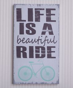 A crazy, awesome, sometimes messy, beautiful ride. Yes. :: 'Life Is Beautiful' Canvas