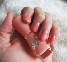 Peach Gel Nails. What Emma Did / August 25, 2015Beauty: Do It Yourself Gel NailsBeauty: Do It Yourself Gel Nails | What Emma Did