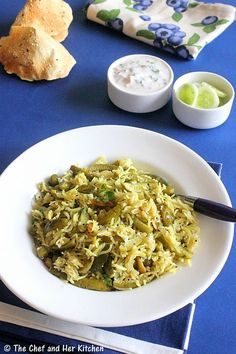 THE CHEF and HER KITCHEN: MASALE BHAAT | TENDLI BHAAT | IVY GOURD RICE