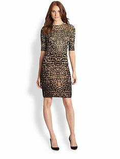M Missoni - Lizard Jacquard Dress - Saks.com