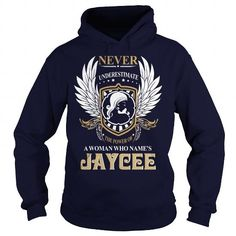Awesome Tee JAYCEE  Never Underestimate Of A Person With JAYCEE  Name T-Shirts