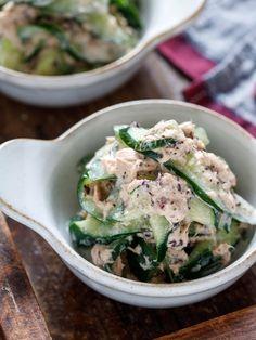 きゅうりしそつな9 Japanese Food, Japanese Recipes, Cooking Tips, Potato Salad, Food Photography, Salads, Food And Drink, Meals, Dinner
