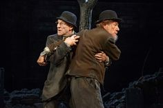 Sir Ian Mckellen and Sir Patrick Stewart's Waiting for Godot. Sigh if only I am there to catch this.