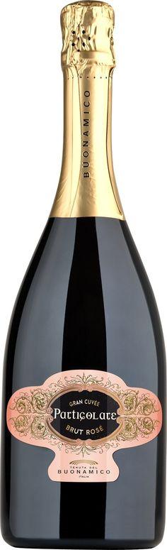 Spumante Particolare Brut Rose' Buonamico wine / vinho / vino mxm