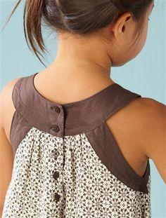 How to sew a T-shirt for Men - Her Crochet Frocks For Girls, Kids Frocks, Little Dresses, Little Girl Dresses, Toddler Dress, Baby Dress, Fashion Kids, Girl Dress Patterns, Frock Design