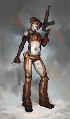 Harley Quinn by Tim Löchner