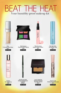 Heat proof make up for summer - after this sweaty night I need it!