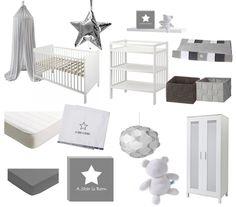 Complete trendy babykamer voor 500 euro