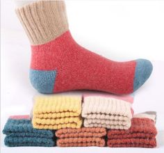 5pair/lot Autumn And Winter Wool women funny Socks Thickening Keep Warm Hair Socks Woman sock hosiery female