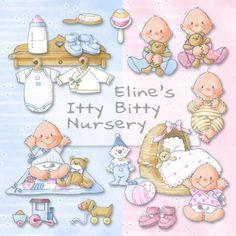 Eline's Digital ClipArt Set – Itty Bitty Nursery