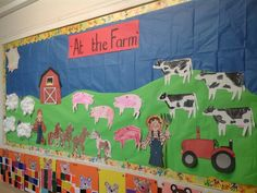 At the Farm bulletin board