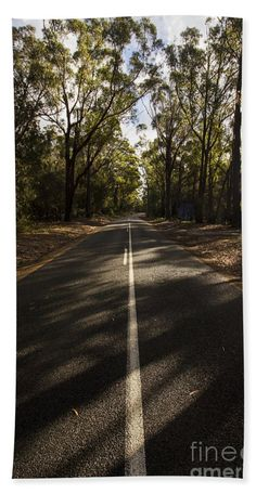 Forest Bath Towel featuring the photograph Forestry Road Landscape by Jorgo Photography - Wall Art Gallery