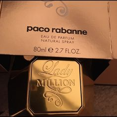 Paco Rabanne Lady Million Perfume (Never Used). Never used 2.7 FL. OZ bottle of Paco Rabanne's Lady Million. Make an offer! Other