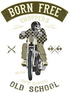 Born Free - Custom Motorcycle