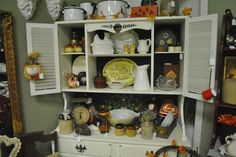The Cottage Shoppe: Autumn Booth