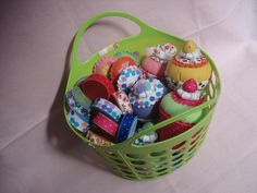 Basket of felt delights #lucygifts