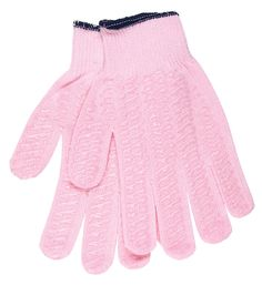 Pink Honeygrip Cotton/Polyester Gloves for Breast Cancer Awareness