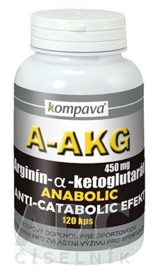 kompava A-AKG  (Arginín-alfa-ketoglutarát) 450 mg