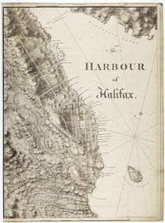 The harbour of Halifax  ca. 1777