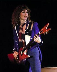 Nancy Wilson HEART circa 1980